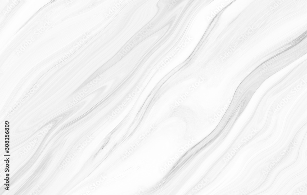 Fototapeta Marble wall white silver pattern gray ink graphic background abstract light elegant black for do floor plan ceramic counter texture stone tile grey background natural for interior decoration.
