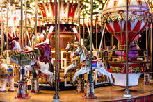 Christmas Colorful Carousel Wi...