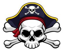 A Skull And Crossbones Jolly R...