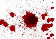 Abstract Vector Red Color Splatter Design Background. Illustration Vector Design.