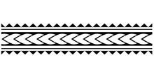 Polynesian Tattoo. Set Of Ethn...