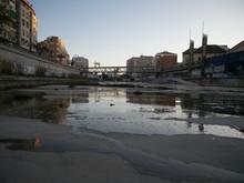 Dry Riverbed Of The Guadalmedi...