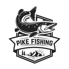 Fishing Club. Emblem Template ...