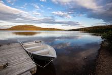 Lac Mont Saint Louis Québec Gaspésie