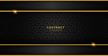 Black And Gold Luxury Template...