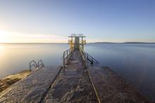 BlackRock Pier At Sunrise In G...