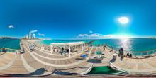 Miami Beach Fishing Pier With ...