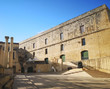 Fortress at ruins of Royal Opera House at Valletta