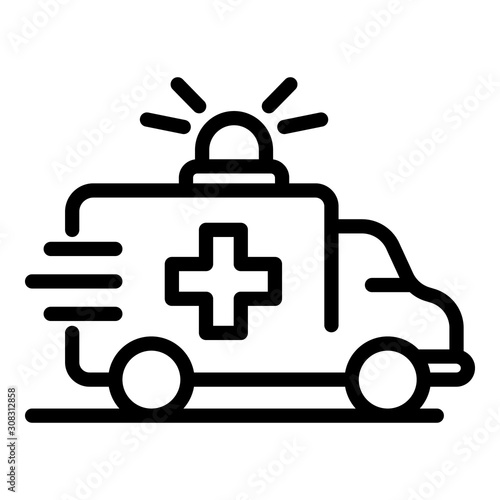 Photo Ambulance car icon