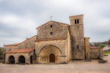 Old Romanesque Stone Church