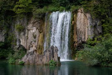 Fototapeta na wymiar waterfall in forest