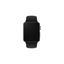 Black Smart Watch Modern Style...