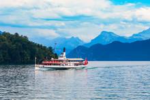 Tourist Cruise Boat, Lucerne Lake