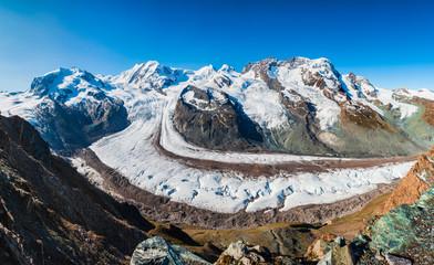 Matterhorn, Monte Rosa, Gorner Glacier