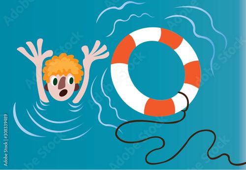 a drowning man will clutch on a straw Slika na platnu