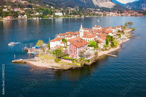 Isola Pescatori, Lago Maggiore Lake Canvas Print