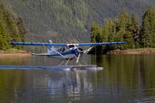 Seaplane Landing In A Remote C...