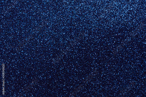 Blue background with many shiny elements Wallpaper Mural