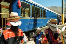 Inca Vendors At The Hiram Bin...