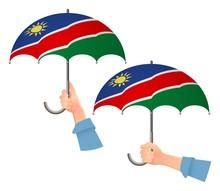 Namibia Flag Umbrella