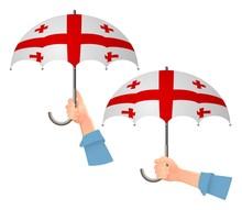 Georgia Flag Umbrella