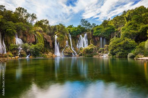 Naklejki na meble Wodospad Kravice w Bośni i Hercegowinie
