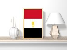 3d Illustration Of Egypt Flag ...