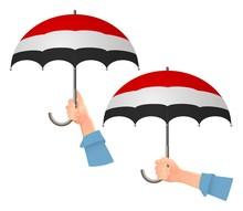 Yemen Flag Umbrella