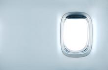 Blank Airplane Porthole