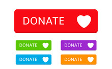 Donate Button Icons