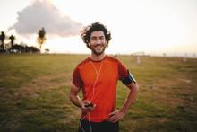 Portrait Of A Happy Fitness Yo...
