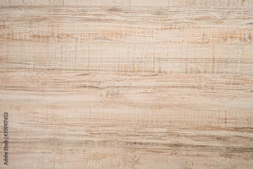Obraz Textured wooden plank of light color as background - fototapety do salonu