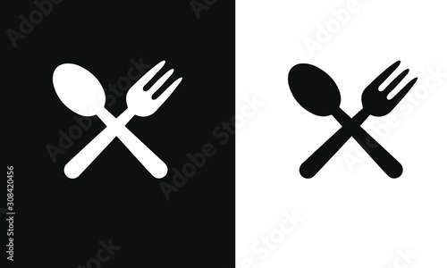 Fotografiet food and drink  dining icon vector design