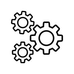 opcje ikona koło zębate
