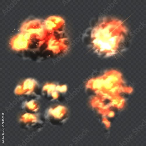 Obraz na plátne Bomb explosion