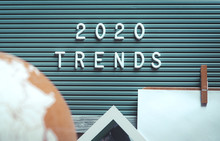 2020 Trends With White Plastic...