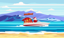 Merry Christmas Santa Claus On...