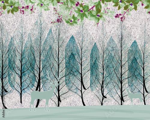 3d-scienne-drzewa-w-zimie-z