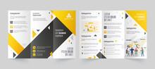 Tri-Fold Leaflet Or Brochure L...