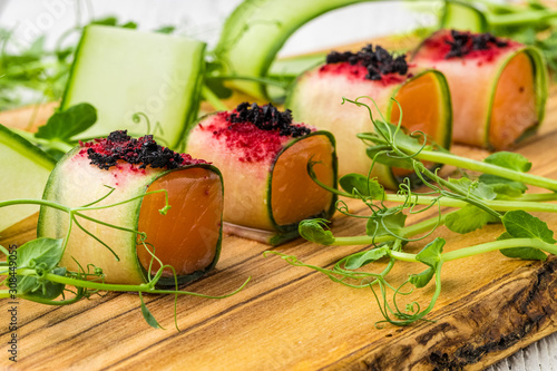 Photo Finger Food appetizer for event party