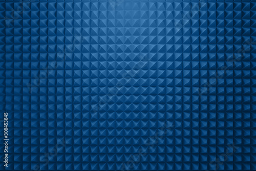 Acoustic foam panel background Tablou Canvas