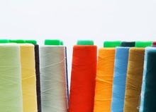 Colorful Bobbin Thread Isolate...