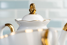 Close Up Photo Of Porcelain Di...