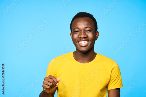 portrait of young man Canvas-taulu