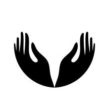 Hand Icon. Vector Illustration...