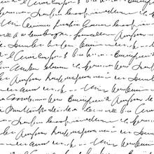 Handwritten Abstract Text Seam...