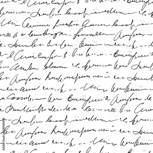 Plakat z ręcznie pisanym tekstem