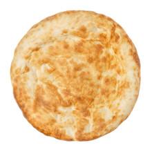 Fresh Pita Bread Close Up Isol...