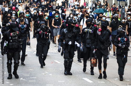 Photo  Hong Kong Protest 2019