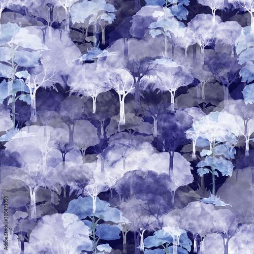 akwarela-bezszwowe-wzor-z-galezi-drzewa-krzewow-lasow-sylwetka-blekitny-drzewo-krzak-las-piekny-modny-wzor-na-tapete-tkaniny-design-biala-niebieska-czarna-zima-noc